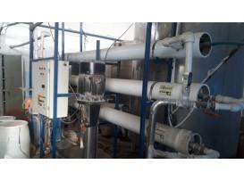 دستگاه RO تصفیه آب صنعتی ۲۵۰ مترمکعب  Ta14.       ..
