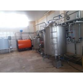 خط تولید لبنیات یک تن کارگاهی L14