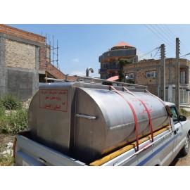 خط جمع آوری شیر (مخزن انتقال شیر و...) L10