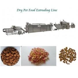 خط اکسترودری تولید غذای حیوانات خانگی