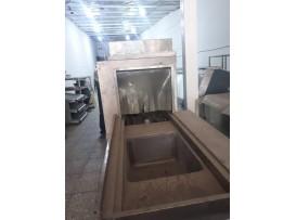ماشین ظرفشویی تونلی صنعتی برند شعله..