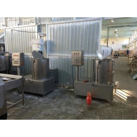 خط کامل تولید انواع کیک و کلوچه صنعتیA14.