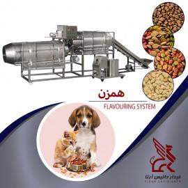 خط تولید غذای حیوانات خانگی